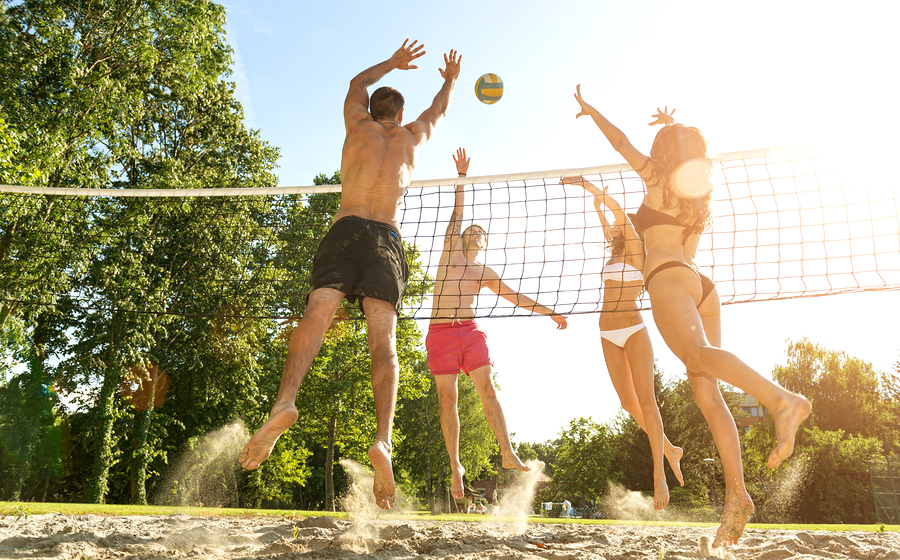 Get The Game Started With Volleyball Sand from The Dirt Man